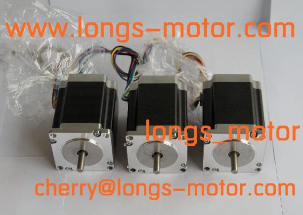 3pcs Nema 23 Stepper Motor 272oz-in 4wires23HS8430/23HS7430  for CNC Router Plasma-Longs Motor3pcs Nema 23 Stepper Motor 272oz-in 4wires23HS8430/23HS7430  for CNC Router Plasma-Longs Motor