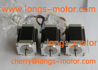 3pcs Nema 23 Stepper Motor 272oz in 4wires23HS8430/23HS7430 for CNC Router Plasma Longs Motor