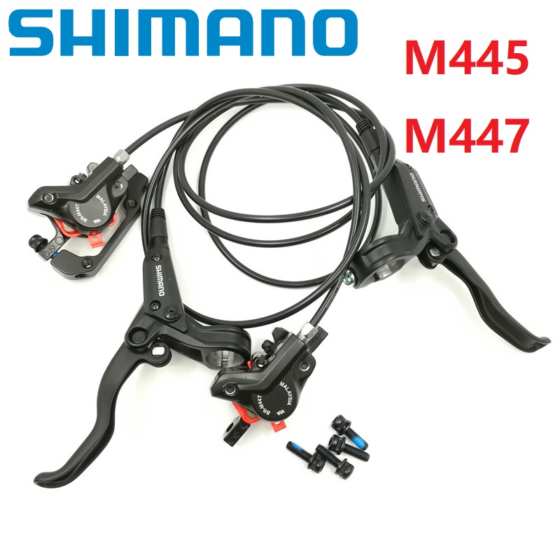 Mountain Bike Hydraulic Disc Brakes Levers Calipers Front Rear Brake Set 1PC