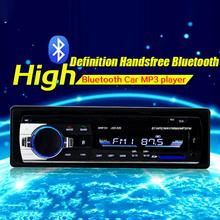 Adeeing Bluetooth Car Audio MP3 Player Audio Stereo 4X60W Car Radio 12V SD USB In-dash 1 Din FM Aux Input Receiver new arrival bluetooth car stereo audio in dash aux input receiver sd usb mp5 player170920