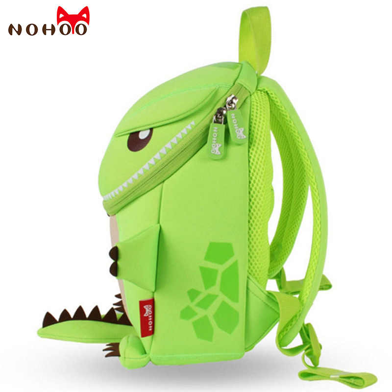 f8fe3d4a5c74 ... NOHOO Dragon 3D Animals Children School Bags Waterproof Cartoon Kids  Backpack School Kids Baby Bags Mochila