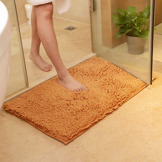 Anti-Slip Fluffy Bathroom Mat