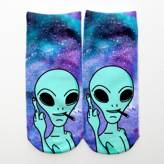 Printed socks (different styles)