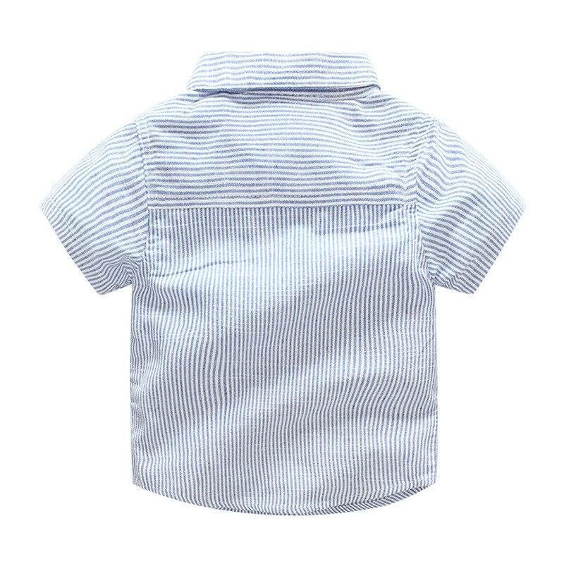 2018 ubranka dla dzieci garnitur Chłopiec krawat Łuk krótka - Odzież dla niemowląt - Zdjęcie 4