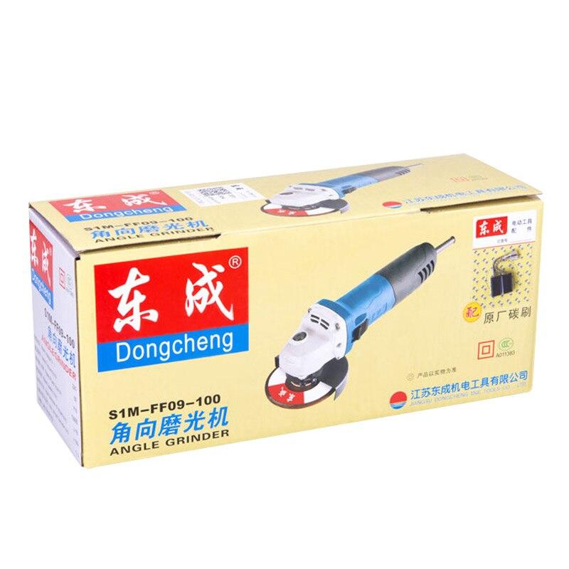 Купить с кэшбэком Angle grinder angle grinder polishing machine polishing machine cutting machine multi-function power tool FF09-100