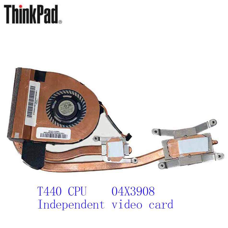 New Original Cooling Fan For Lenovo ThinkPad T440 CPU Independent video card 04X3908 Cooler Radiator Cooling Fan Heatsink original fan ac220 240v 6c 230absl cooling fan