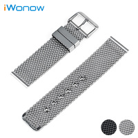 Stainless Steel Watch Band 20mm 22mm 24mm For Citizen Pin Buckle Strap Link Wrist Belt Bracelet