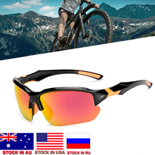 Dropshipping New Color-changing Polarized Cycling Glasses Bike Eyewear Sports