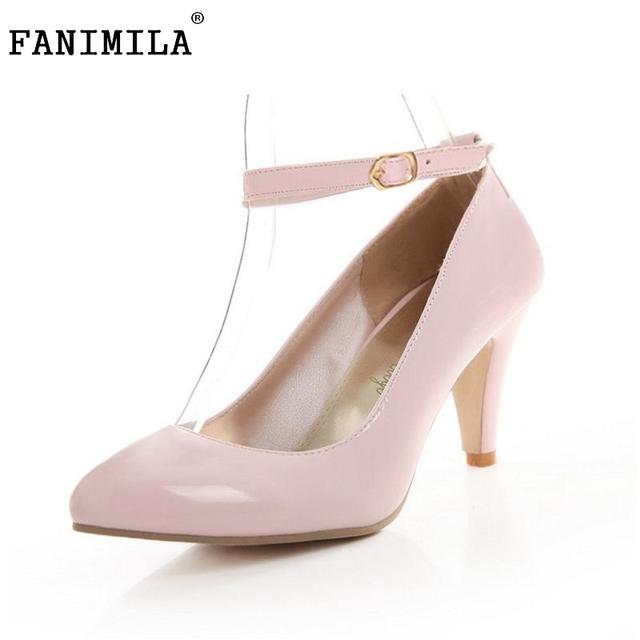 Envío libre grueso zapatos de tacón alto de las mujeres sexy lady fashion plataforma bombas P11932 venta caliente el tamaño EUR 31-43