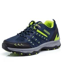 Men Trekking Shoes LightWeight Climbing Shoes Men Outdoor Sport Walking Shoes Mountain Shoes Chaussure Homme Randonnee Size 44
