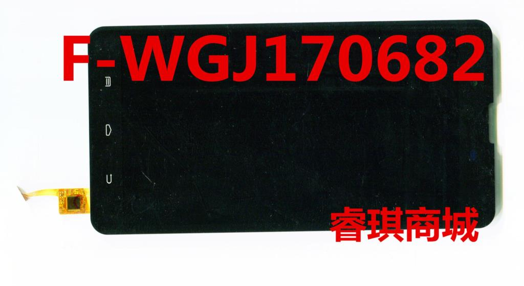 7 inch black in stock F-WGJ1706820 tablet pc touch screen +LCD panel Digitizer Glass sensor replacement
