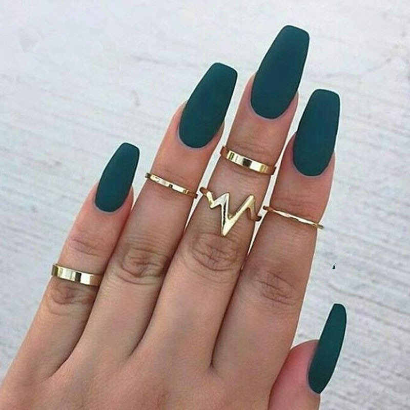 2019 new fashion popular women's ring 5 piece set ring wholesale Wedding Rings For Women
