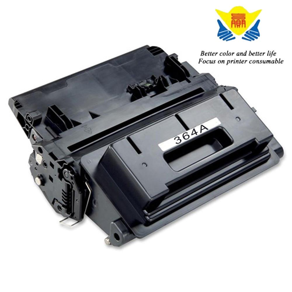 JIANYINGCHEN black Compatible toner cartridge CC364A 364a for HP LaserJet P4014 P4015 P4515 (2pcslot)