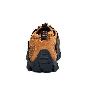 Image 5 - Mężczyźni buty górskie wodoodporne buty mężczyzn wspinaczka górska buty trekkingowe