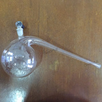 125ml 250ml 500ml 1000ml High Quality Lab Glass Retort Flask