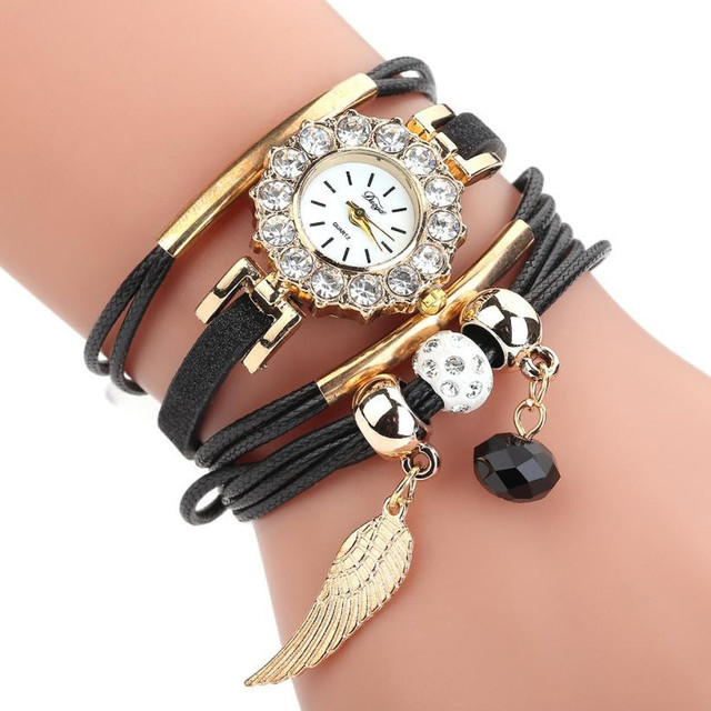 Duoya Brand Women watches bracelet watch ladies casual Quartz Watch Luxury Brace