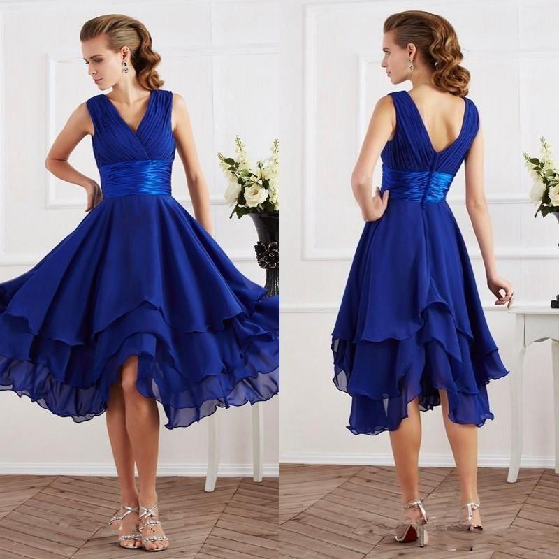 Popular royal blue bridesmaid dress buy cheap royal blue for Royal blue wedding dresses cheap