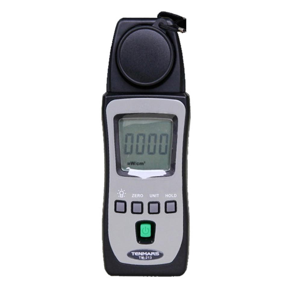 TM-213 Portable UV Light Analyzer Ultra Violet Light Tester Ultraviolet Light Meter UV Radiometer UVA UVB UVAB 290nm ~ 390nm