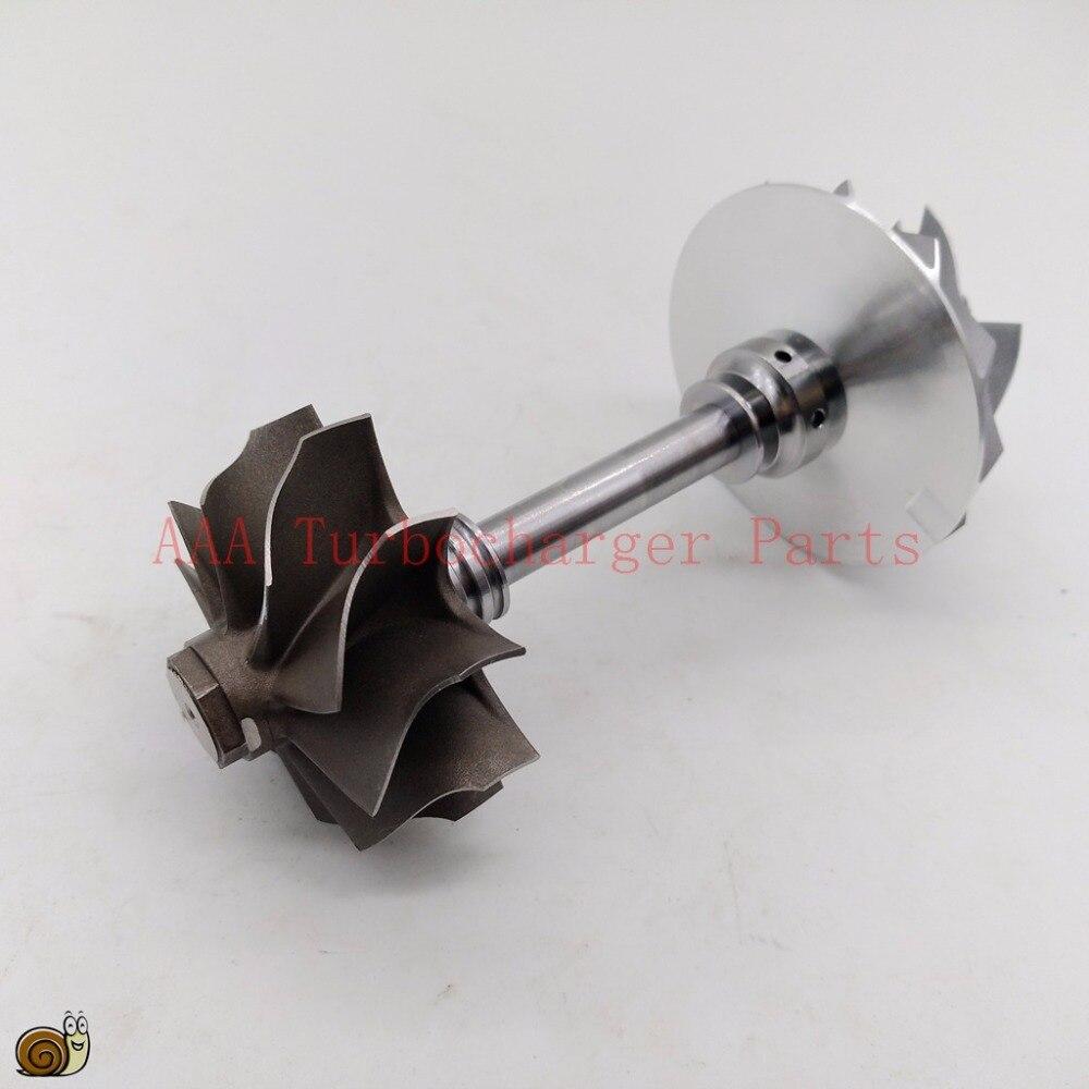 TB28 Turbo Запчасти вала турбины и колеса 46,3x53 мм, Comp колеса 44,6x60 мм, поставщик AAA Турбокомпрессор Запчасти