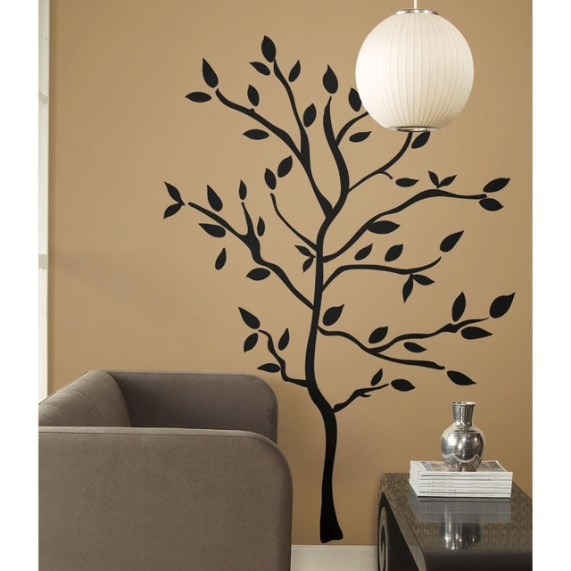 High Quality Fashion Removable Vinyl Tree Branches Peel Stick Wall Decals Art Room Wall  Sticker For Living Room