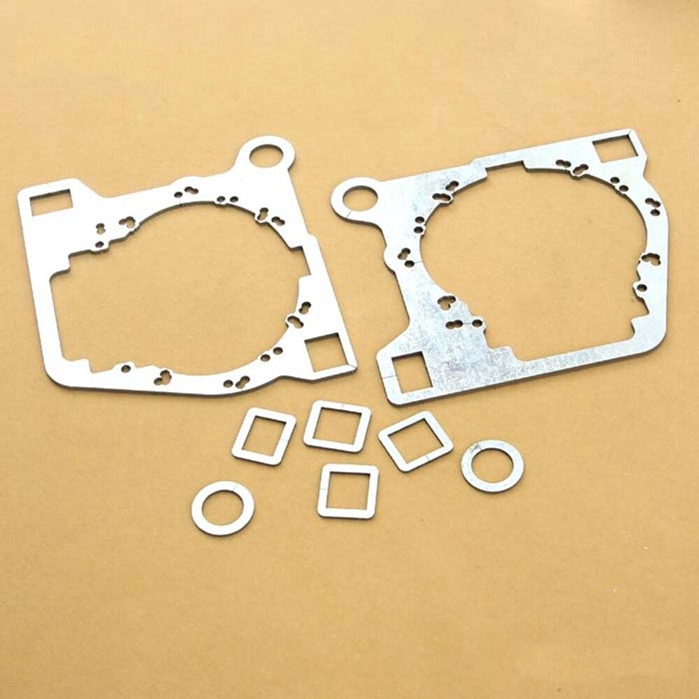 Биксенон рама адаптер DIY кронштейн держатель модуль Набор для Toyota Camry 2012 Hella 3r 5 Q5 объектив проектора