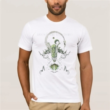 Alien T Shirt T-Shirt Cartoon Printed Summer Tee Plus Size 4XL 6XL Men Fun Cotton Short Sleeve Beach Tshirt