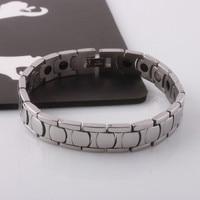 44g Stainless Steel Magnetic Germanium Bracelet Titanium Steel Energy Bracelet With Stainless Steel Jewelry Bracelets For