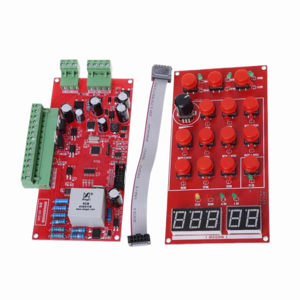 80x160mm NYD06 Pneumatic Spot Welder Controller Kit Resistance/Seam Welding Control Board831F80x160mm NYD06 Pneumatic Spot Welder Controller Kit Resistance/Seam Welding Control Board831F
