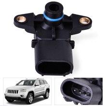 DWCX OEM 56041018AB Manifold Absolute Pressure MAP Sensor for Chrysler VOYAGER V6 Dodge Caravan Jeep GRAND LIBERTY 68002763AA