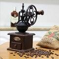 Высококачественная круглая ручная шлифовальная машина для домашнего кофе  ручная кофемолка  ретро ручная кофемолка