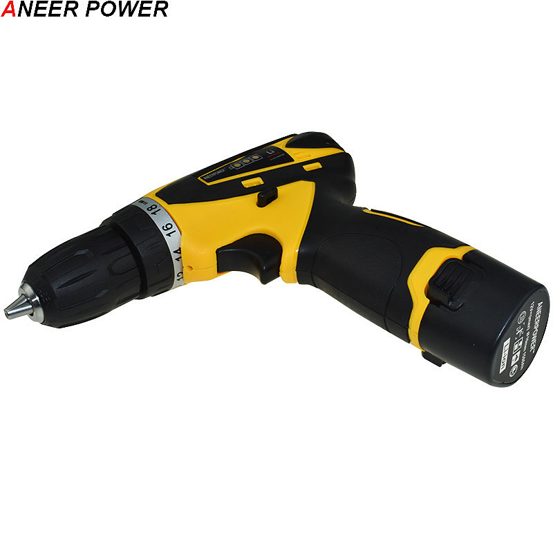 Image 5 - 1.5Ah Battery Capacity Drill 12v Mini Cordless Drill Power Tools Electric Screwdriver Electric Drill Batteries Screwdriver-in Electric Drills from Tools on
