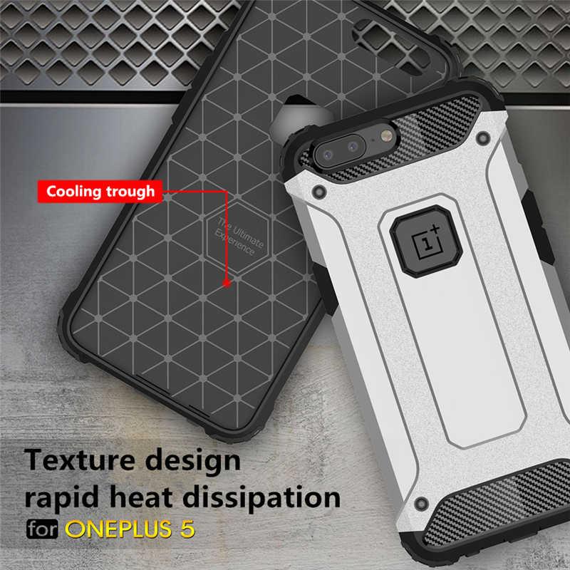 JKaiSen étui pour Oneplus 6 6 t 5 t étuis Oneplus 5 t protection complète sac de téléphone couverture arrière One plus 6 t armure de luxe pour Oneplus 5 Coque