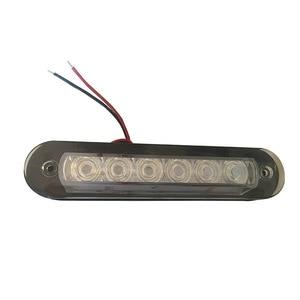 Image 1 - Холодный белый пластиковый светильник для лестницы, светодиодный светильник для чтения для лодки, водонепроницаемый настенный светильник для грузовика 12 В