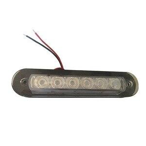 Image 1 - Koel Wit Plastic Strip Trap Licht Marine Boot LED Leeslamp voor 12V RV Camper Trailer Truck Waterdichte Muur lamp