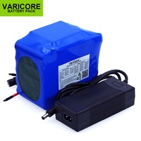 VariCore 12V 20A high power 100A battery discharge protection package BMS 4 line output 500w 800w 18650 battery+12.6v 3A Charger