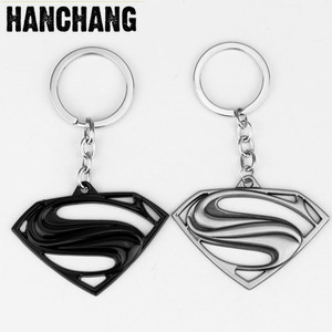 Best Sellers DC Comics Superhero Superman Key Chain Keyring Superman S Logo Triangle Pendant Keychain Holder For Women Men Metal Accesssries — bequmcmvl