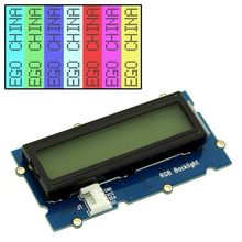 7 Mode RGB Backlight, FSTN Positive Serial I2C/IIC Interface 162 16X2 1602 Character LCD Module Display Screen LCM