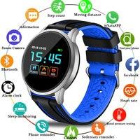 men waterproof LIGE Sport Bracelet Men smartwatch Women IP67 Waterproof Fitness Tracker LED Screen heart rate Monitor Pedometer Smart Wristband (1)