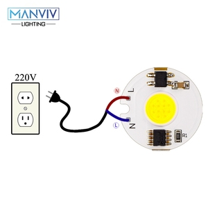 Image 4 - LED COB チップランプ 12 ワット 9 ワット 7 ワット 5 ワット 3 ワット 220V スマート IC 高輝度ドライバフィット Diy スポットライト投ウォームホワイト