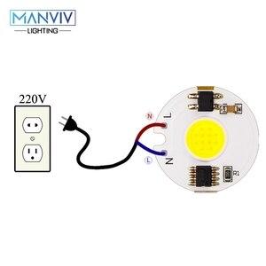 Image 4 - LED COB שבב מנורת 12W 9W 7W 5W 3W 220V חכם IC גבוהה בהירות נהג Fit DIY עבור זרקור הארה קר לבן חם לבן