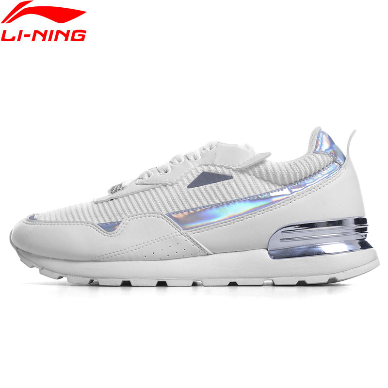Li Ning Women Sports Life Lifestyle Shoes Breathable Leisure Jogging Sneakers Classic LiNing Sport Shoes GLKN034