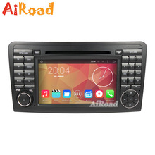 RK3188 Quad Core 1024*600 Android 4.4.4 Kitkat Car DVD Player for Mercedes Benz ML Class Car Stereo Radio GPS Navigation