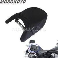 Motorcycle Passenger Seat Cushion Rear Seat Pad for Suzuki Boulevard M109R LT/VZR 1800 2006 2012