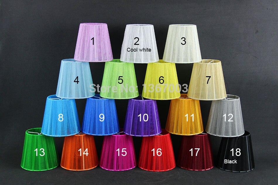 Lampenschirme Klein Kronleuchter ~ Dia 12 cm moderne spitze kronleuchter lampenschirme weiß schwarz