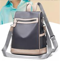 Oxford cloth shoulder bag female 2019 new Korean backpack lady anti theft Laptop fashion travel bag female