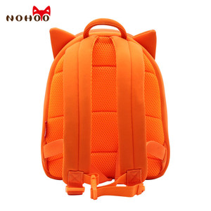 Image 3 - NOHOO Toddler Children School Bag for Boys Kids Waterproof Backpack Kindergarten Girls 3D Cartoon Shape Mochila for 2 7 Years