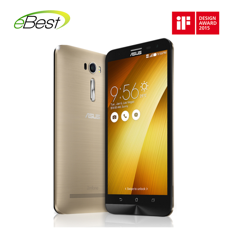 Asus ZenFone 2 Laser ZE601KL 6 inch 4G lte cell phone 64 bit Qualcomm Snapdragon 616 MSM8939 quad core 3GB Ram 32GB Rom 1080p