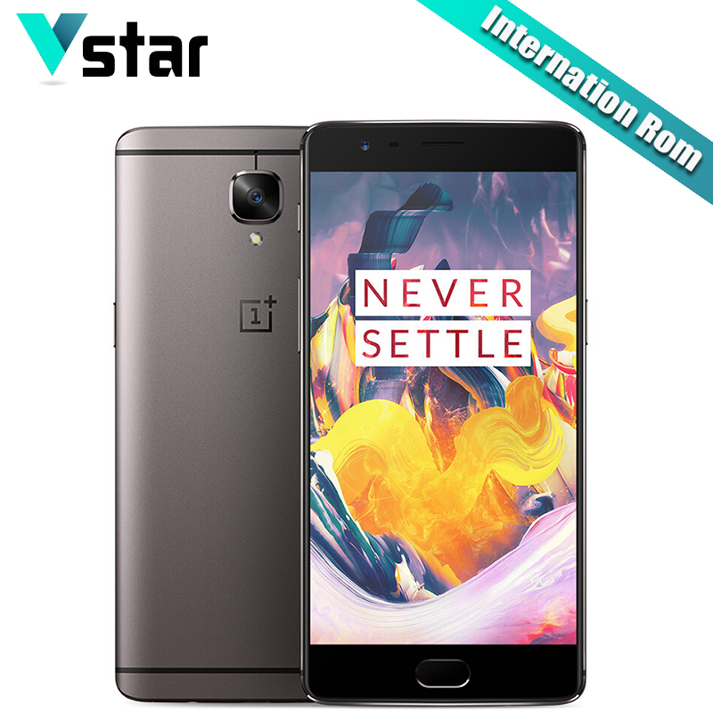 International Firmware Original Oneplus 3T A3010 5 5 inch Cellphone Android 6 0 Oxygen OS 6GB