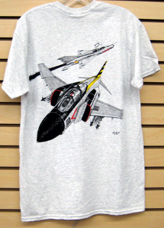 Newest 2019 Men T-Shirt Fashion F-4 Phantom Vs MiG-21 T-Shirt O Neck Tee Shirt Short Sleeve