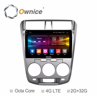 For Honda City 2009 2010 2011 2012 2013 2014 Vehicle Android DVD Radio Video Multimedia Player